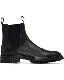 Black Spencer Chelsea Boots