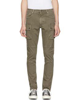 Green Westward Jeans