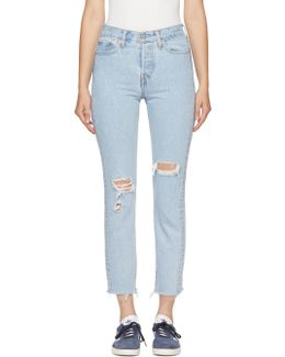 Blue Wedgie Fit Jeans