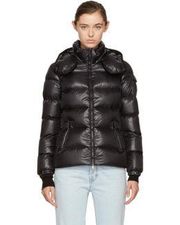 Black Down Berre Jacket