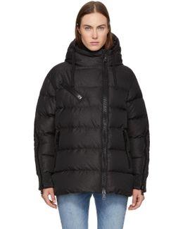 Black Oversized Down Liriope Jacket