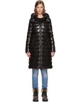 Black Down Moka Coat
