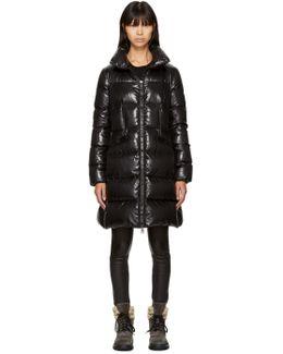 Black Down Jasminum Jacket