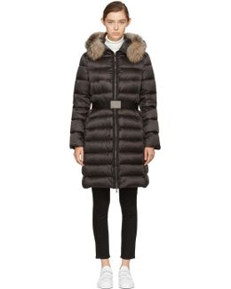 Black Down & Fur Tinuviel Coat