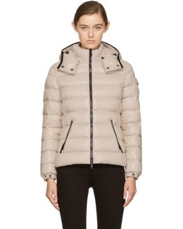 Beige Down Bady Jacket