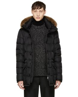 Black Down Cluny Coat
