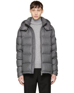 Grey Down Montgenevre Jacket