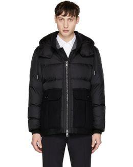 Black Down Vitoux Jacket