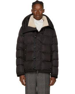 Black Down Shearling Pyrenees Jacket