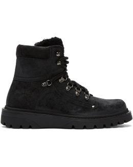 Black Nubuck Egide Boots