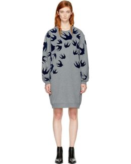 Grey Swallow Signature Sweatshirt Dress
