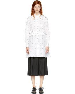 White Swallow Shirt Dress