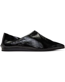 Black Liberty Fold Loafers