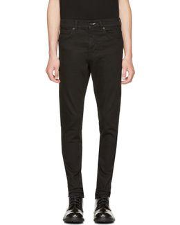 Black Strummer Jeans