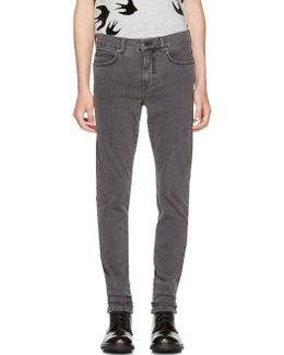 Grey Strummer Jeans