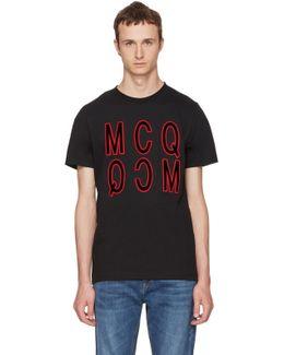 Black Debossed Logo T-shirt