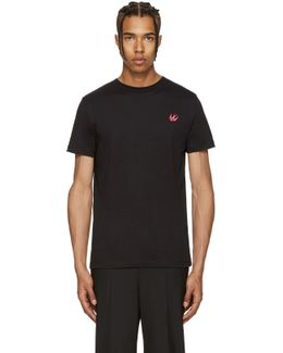 Black Swallow Badge T-shirt