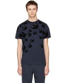 Navy Swallows T-shirt