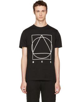 Black Glyph Logo T-shirt