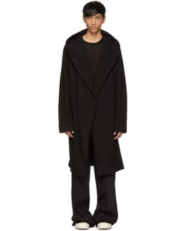 Black Spa Robe Cardigan
