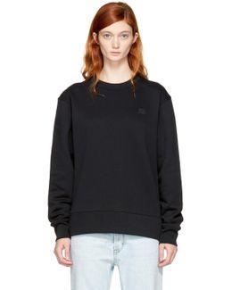 Black Fairview Face Sweatshirt