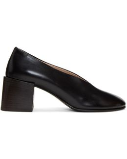 Black Sully Deconstructed Heels
