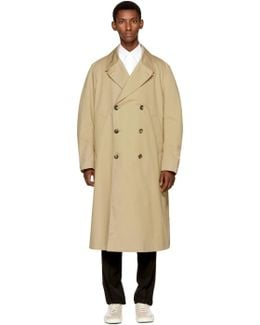 Beige Mesa Trench Coat