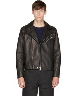 Black Leather Axl Jacket