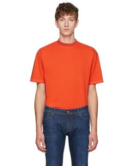 Orange Gojina Dyed T-shirt