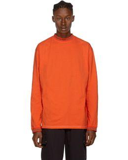 Orange Long Sleeve Greta T-shirt