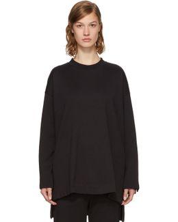 Black Bold Three-stripes Sweatshirt
