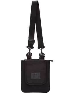Black Reporter Bag