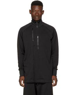 Black Matte Track Jacket
