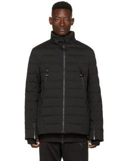 Black Matte Down Jacket