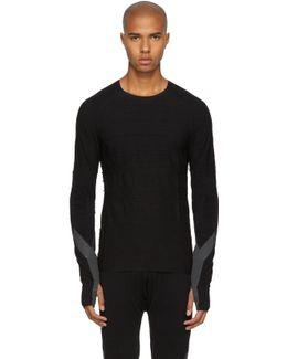 Black Long Sleeve Merino T-shirt