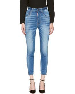 Blue Twiggy Jeans