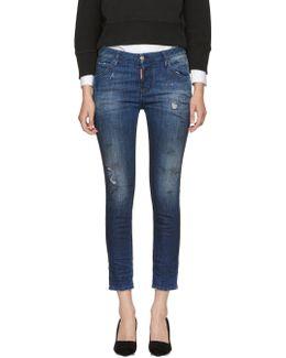 Indigo Cool Girl Jeans