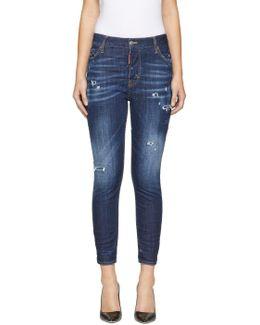 Indigo Sprinkle Wash London Jeans