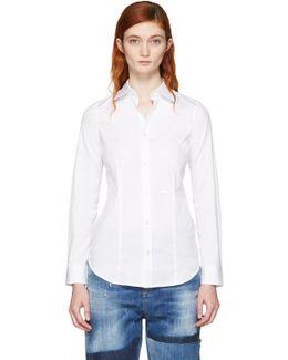 White Classic Poplin Shirt