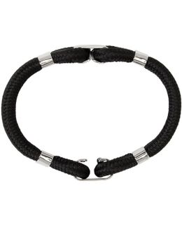 Black Techno Cords Bracelet