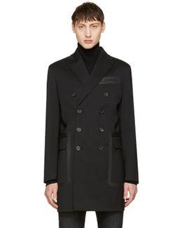 Black Chic Wool Coat