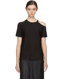 Black Deconstructed T-shirt
