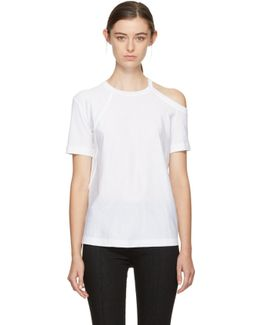 White Deconstructed T-shirt