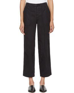 Black Nam Trousers