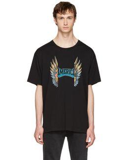Black Oversized Graphic T-shirt