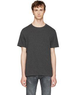 Black & Grey Striped T-shirt