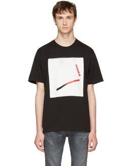 Black Loose Graphic T-shirt