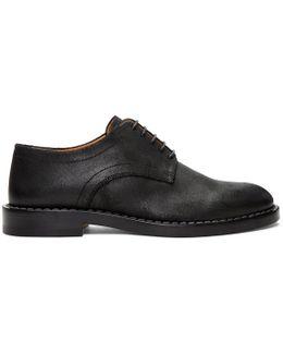 Black Leather Derbys