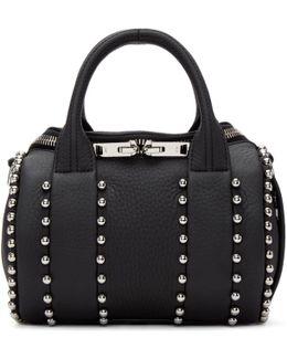 Black Mini Rockie Ball Stud Bag