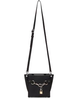Black Mini Chain Attica Satchel